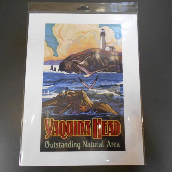 Yaquina Head 9 X 12 Poster